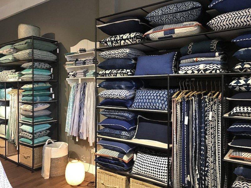 mercredi bali blue cushions pic