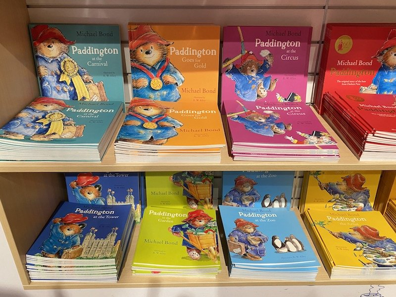 paddington bear london books