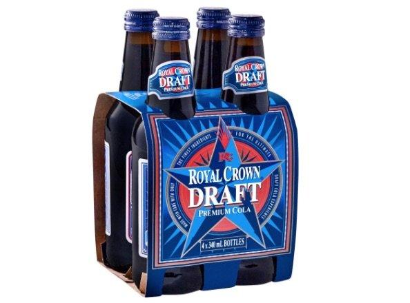 royal crown draft cola NZ pic