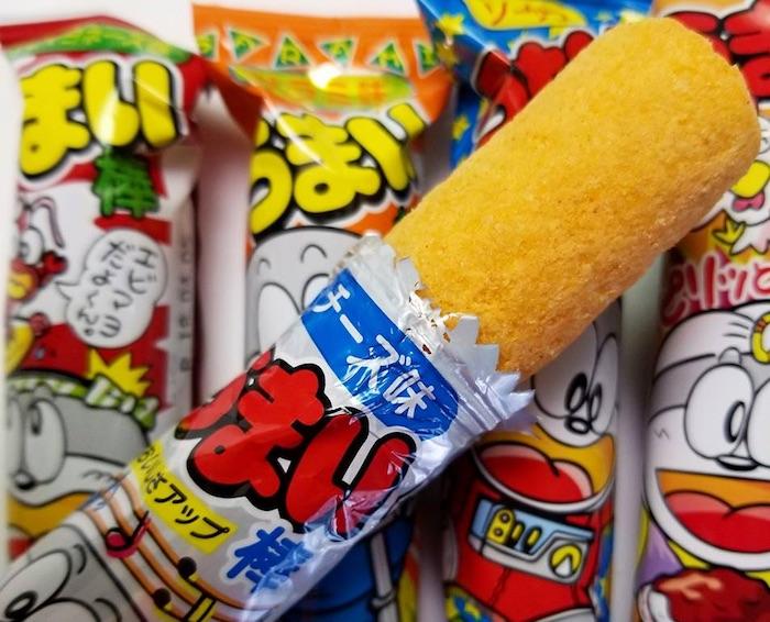 umaibo japanese snacks pic