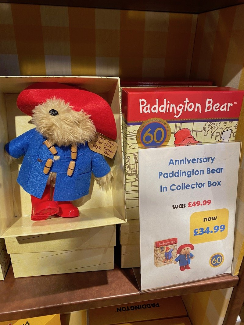 vintage paddington bear collectors edition pic