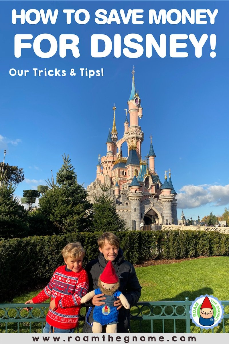 PIN how to save for disney 800