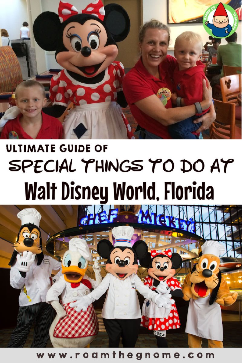 PIN special things to do at Walt Disney World