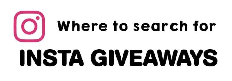 best competition websites best instagram giveaways