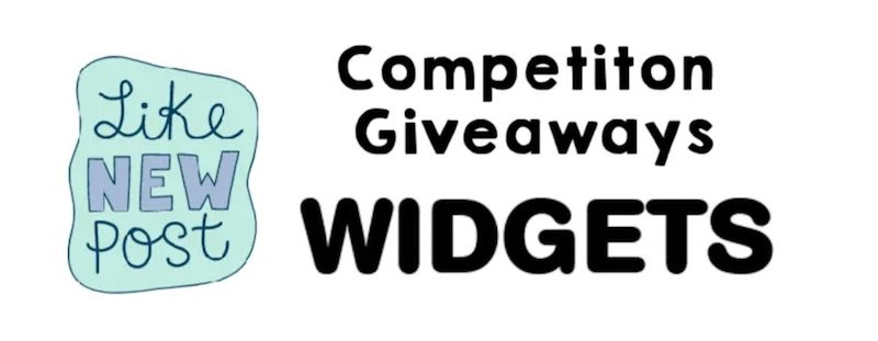best competition websites widgets
