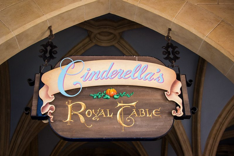 cinderellas royal table sign pic by harshlight