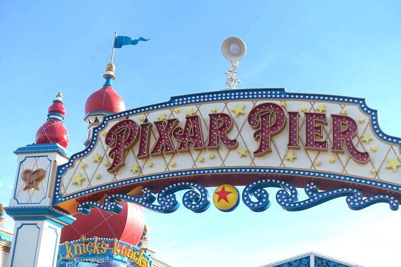 disney california adventure park pixar pier by jeremy thompson