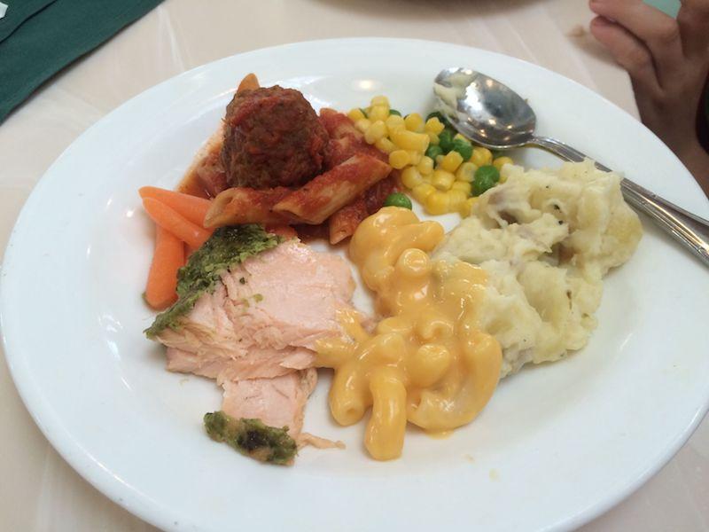 disney character meal at crystal palace food pic 800