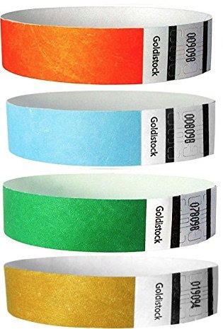 goldistock tyvek kids id bands pic