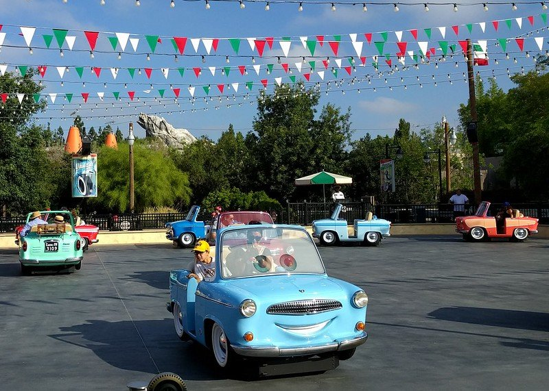 luigi's rollickin' roadsters in DCAP anaheim by ruth hartnup