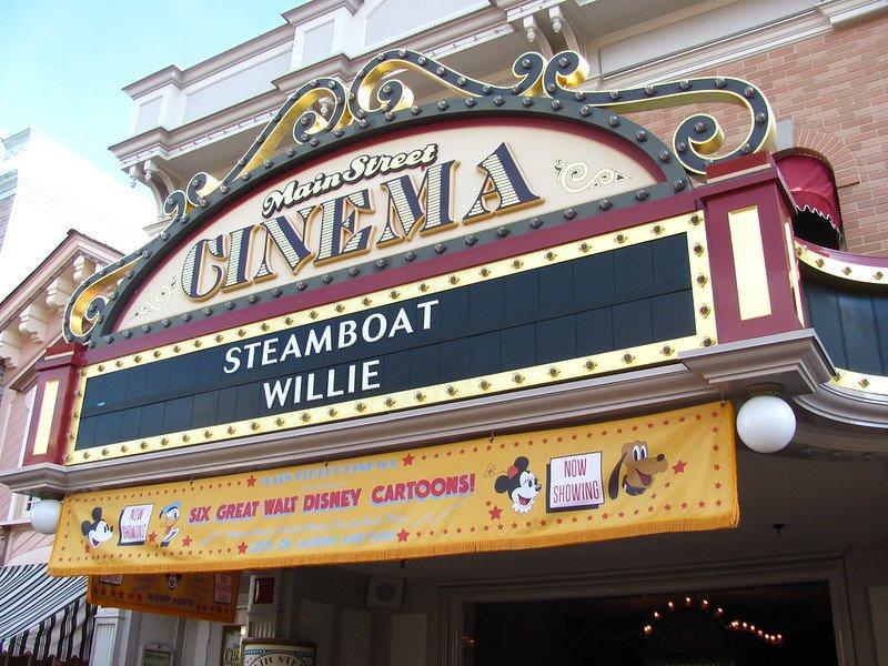 main street cinema disneyland by jeremy thompson