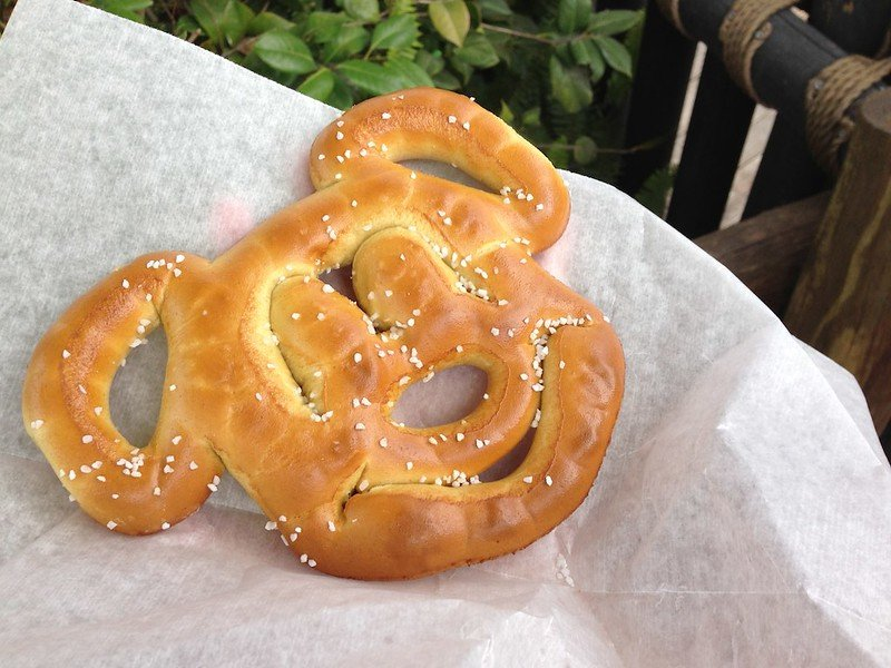 mickey mouse pretzel by doug butchy