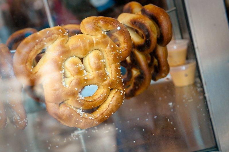 mickey pretzels by josh hallett
