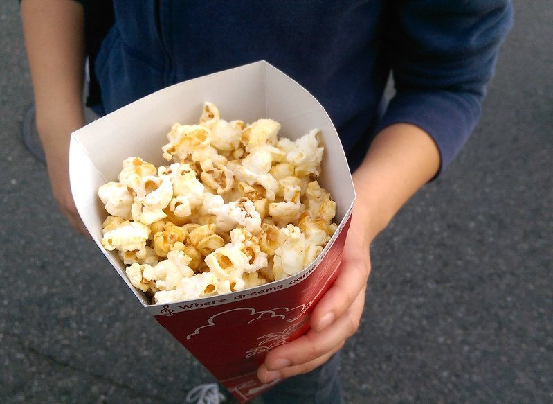 milk tea popcorn by sstrieu