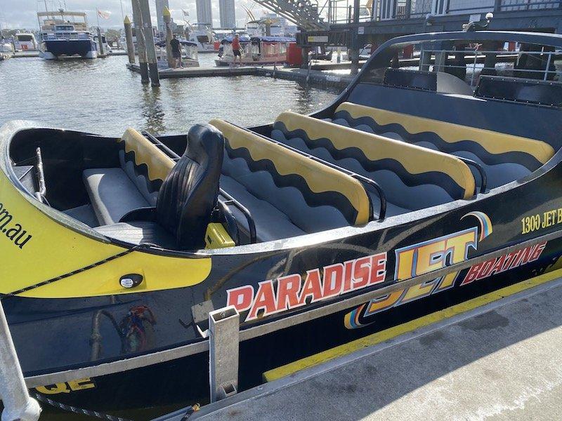 paradise jet boat gold coast