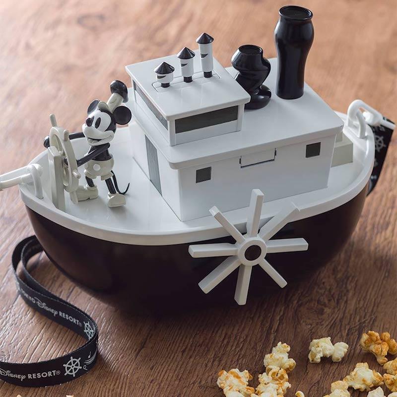 steamboat willie popcorn bucket by tokyo disney resort