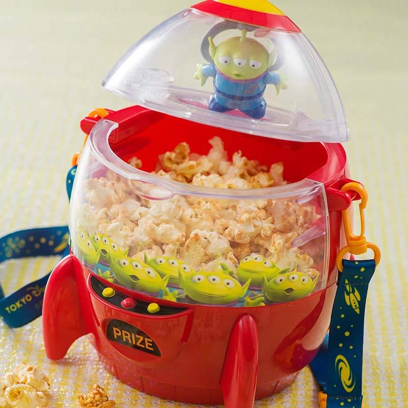 tokyo disneysea alien mochi popcorn bucket