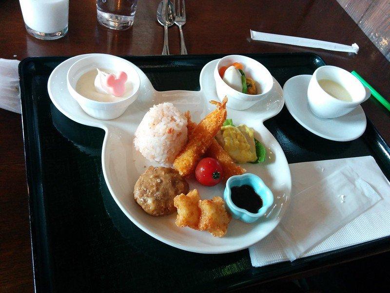tokyo disneysea children's set meal at sakura by cory doctorow