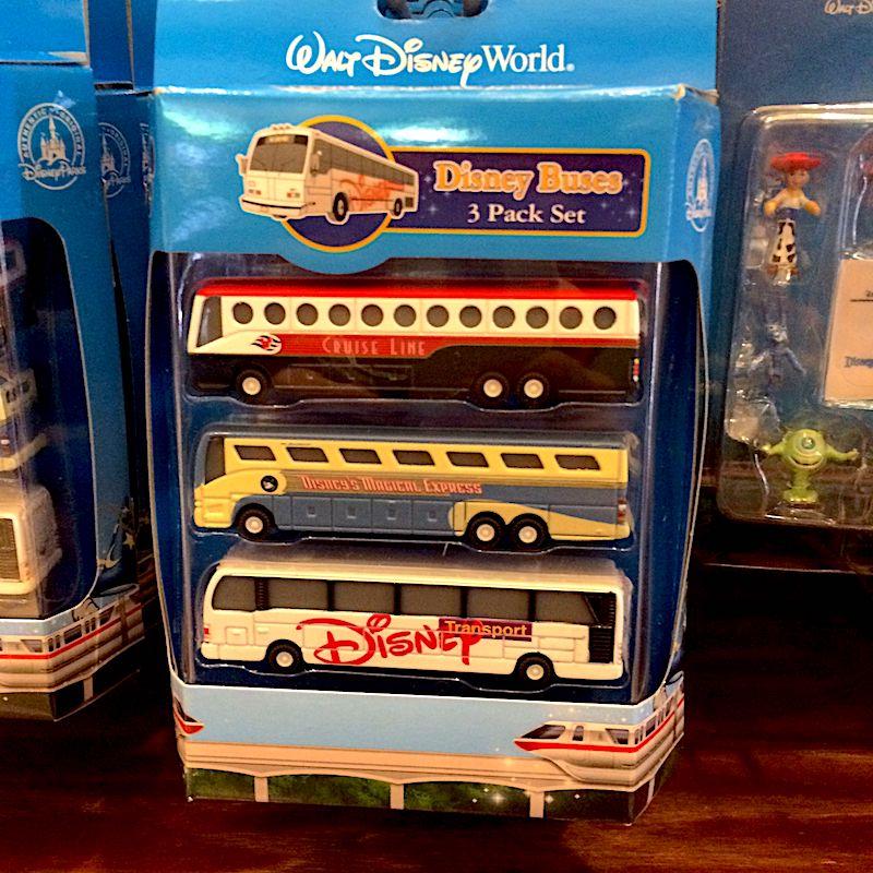 walt disney world souvenirs - disney buses 3 pack 800
