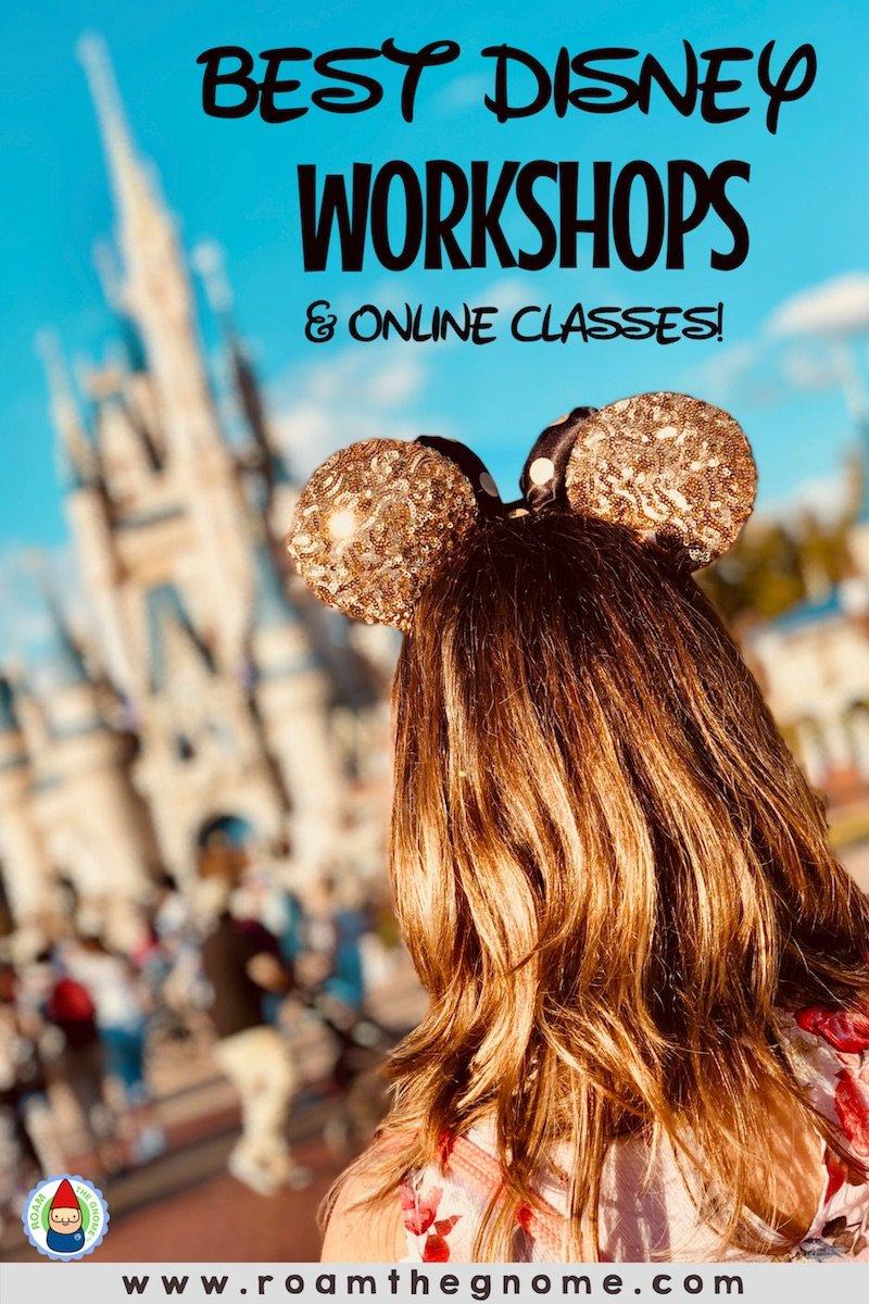 PIN best disney workshops and Disney online classes 800