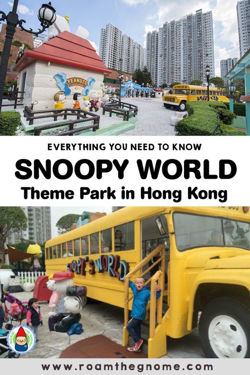 PIN snoopy world hong kong 800