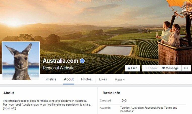 Tourism-Australia-Facebook-page