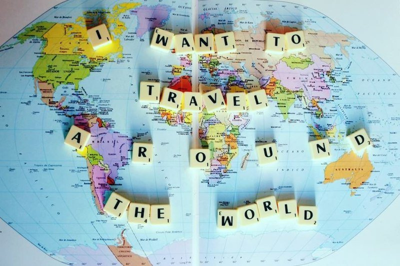 Travel_around_the_world map with scrabble letters by unknown - original source unfound 800