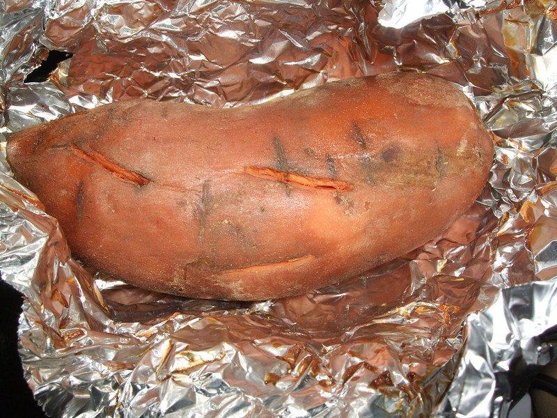 baked sweet potato by kim