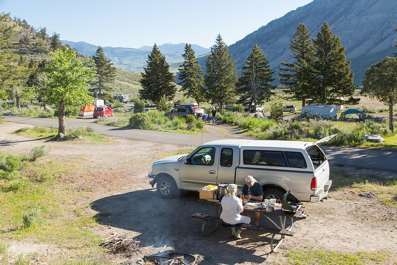 best coolers for camping in the campgrounds pic by neal herbert