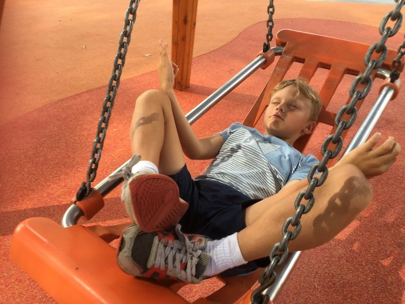 boundless playground all abilities swing