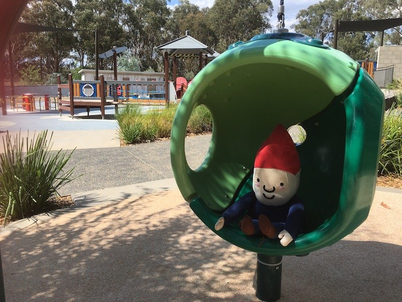 boundless playground canberra green pod toy