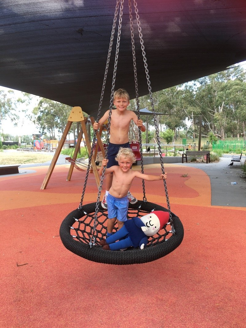 boundless playground canberra net swing pic