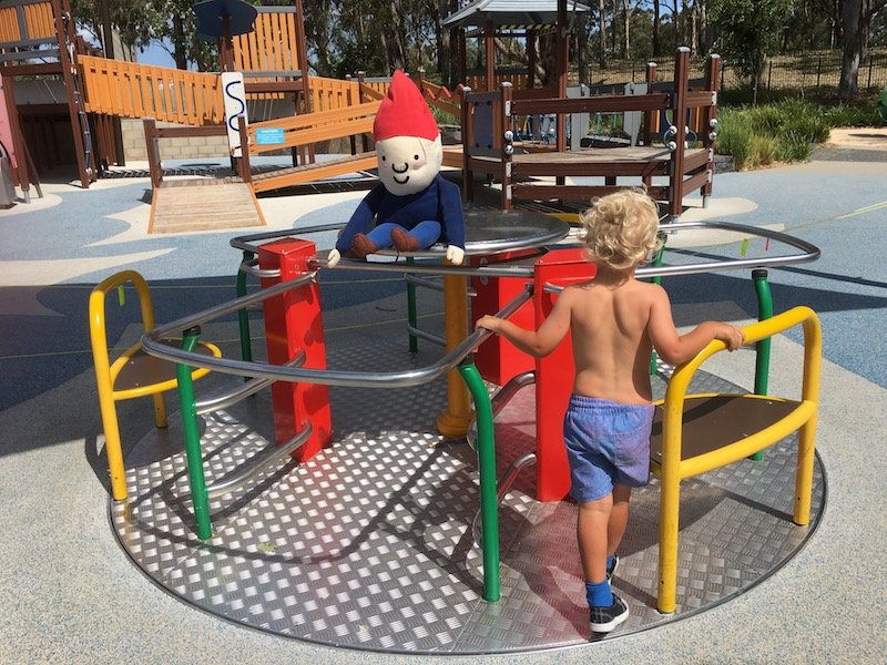 boundless playground canberra carousel pic