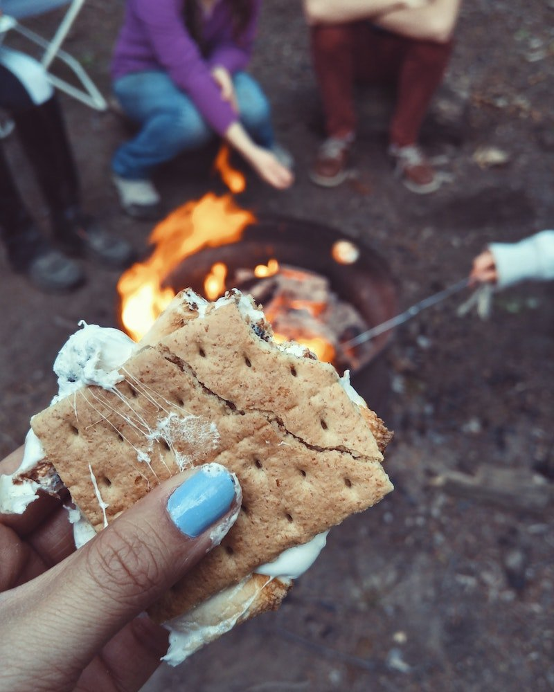 camping food - fun smores by autumn-mott-rodeheaver