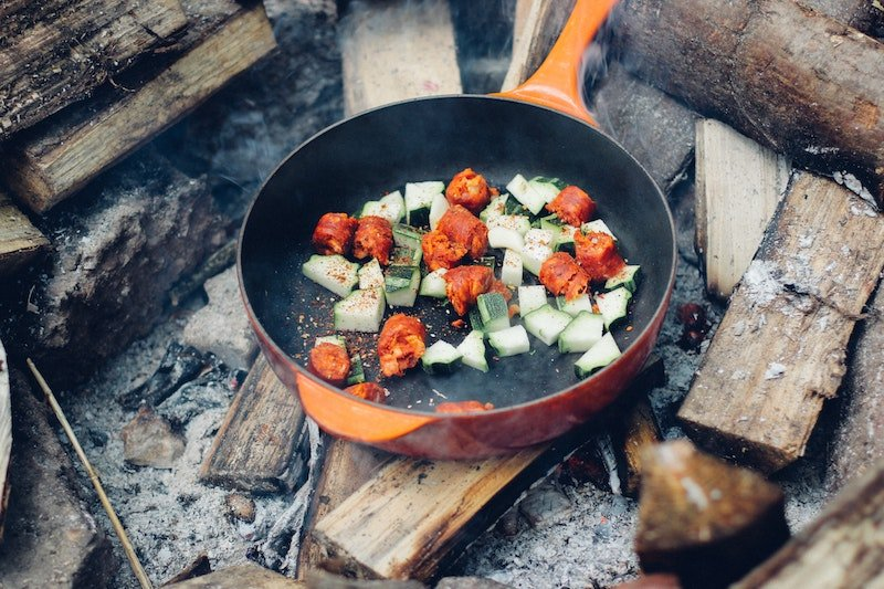 camping food list - vegetarian camping foods by dan-edwards