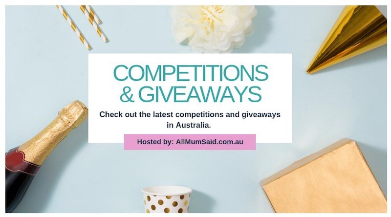 competitions & giveaways australia FB logo