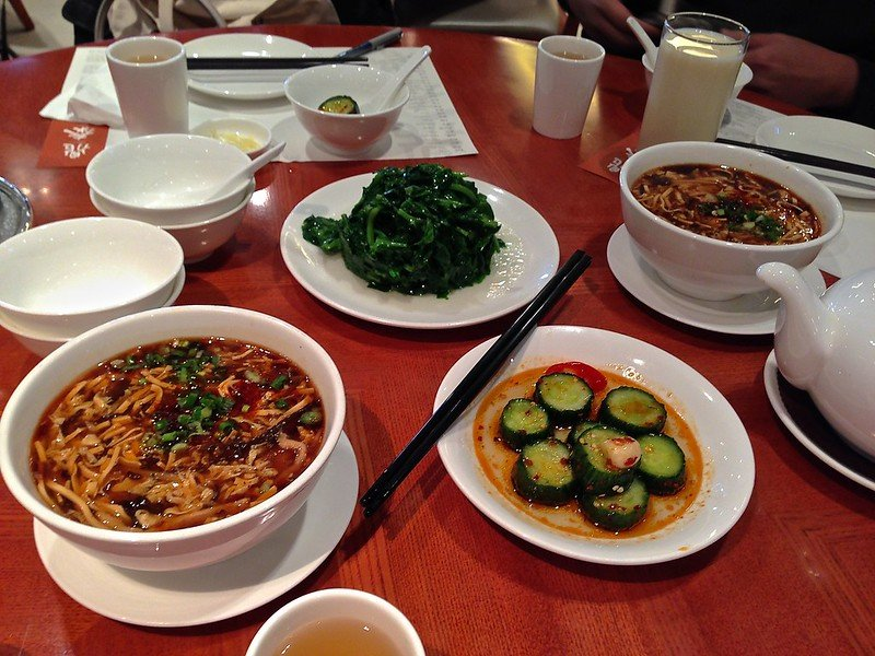 din tai fung restaurant meals by bevis chin