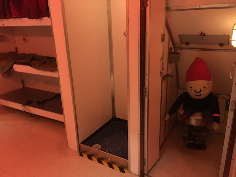 discovery zone canberra war memorial australia sleeping quarters pic