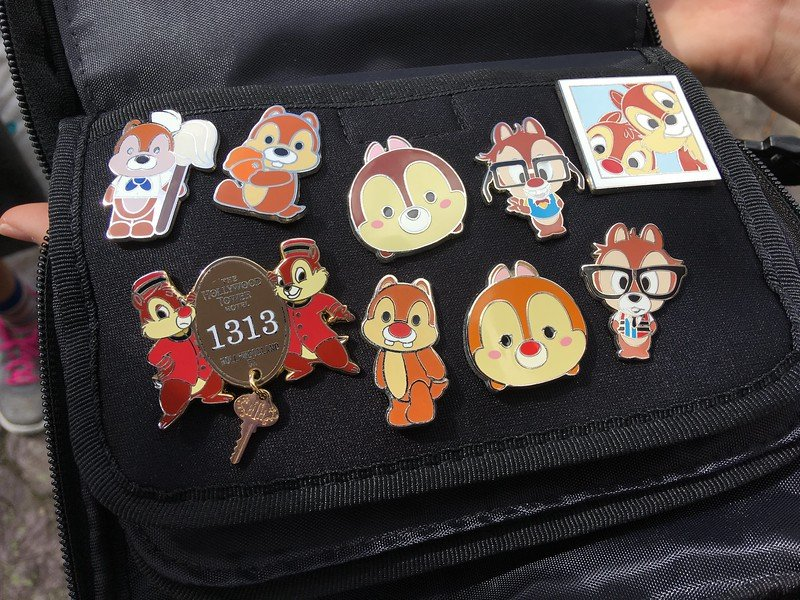 disney pins chip and dale by martin lewison