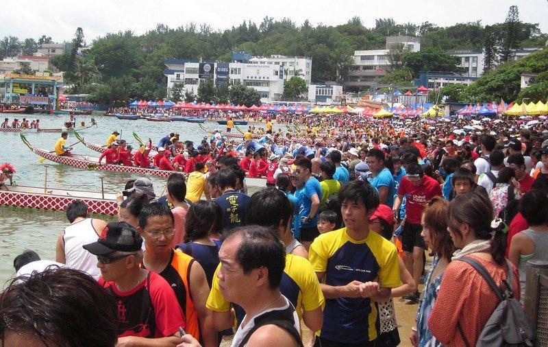 dragon boat racing pic at stanley hong kong