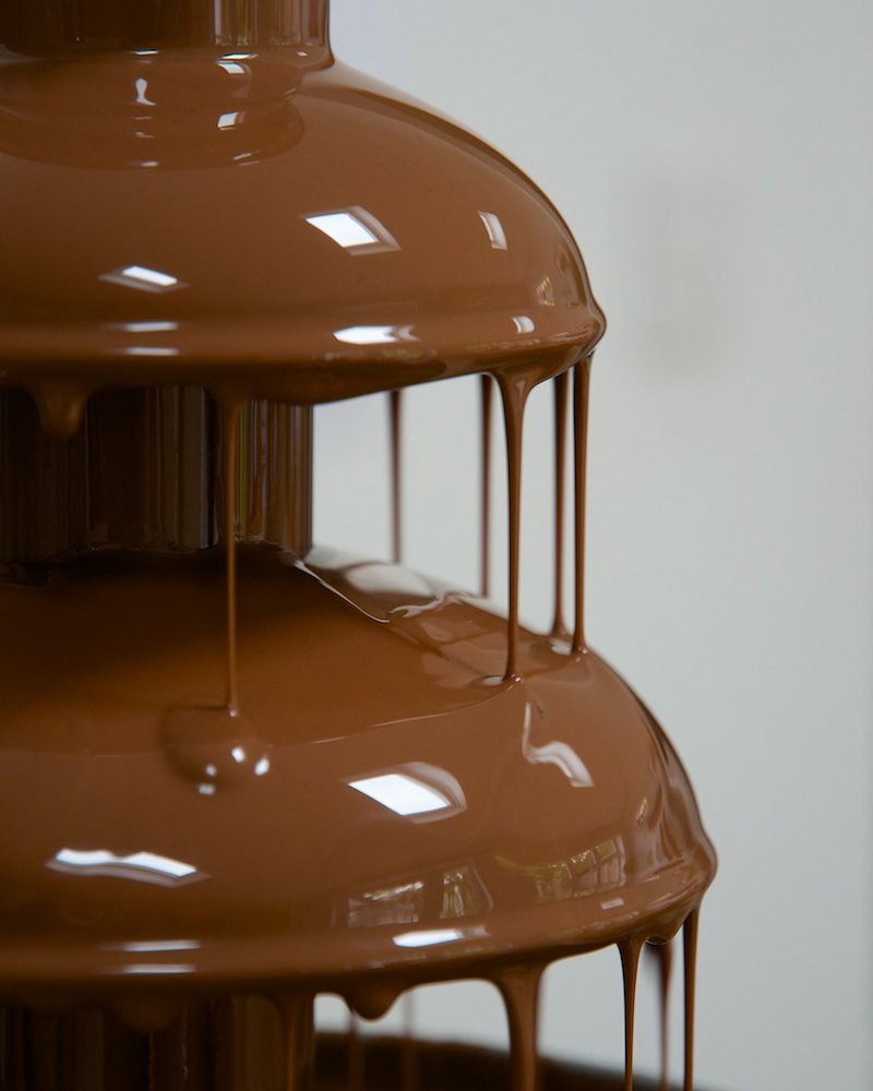 dripping chocolate fountain by rum bucolic ape