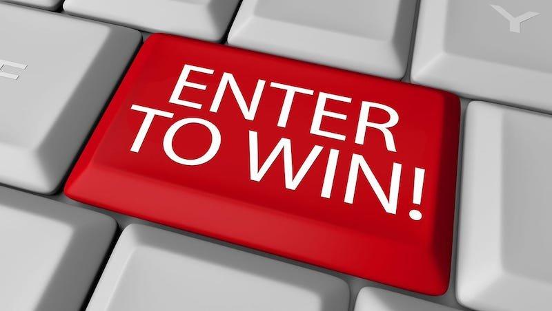 enter to win logo