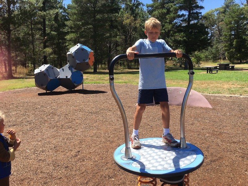 fadden pines playground canberra playground equipment pic