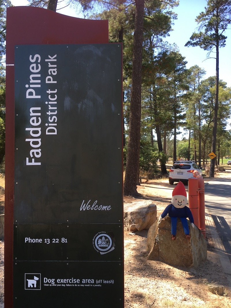 fadden pines playground sign pic