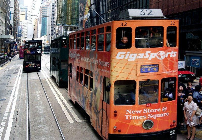 happy valley trams pic by bernard spragg nz