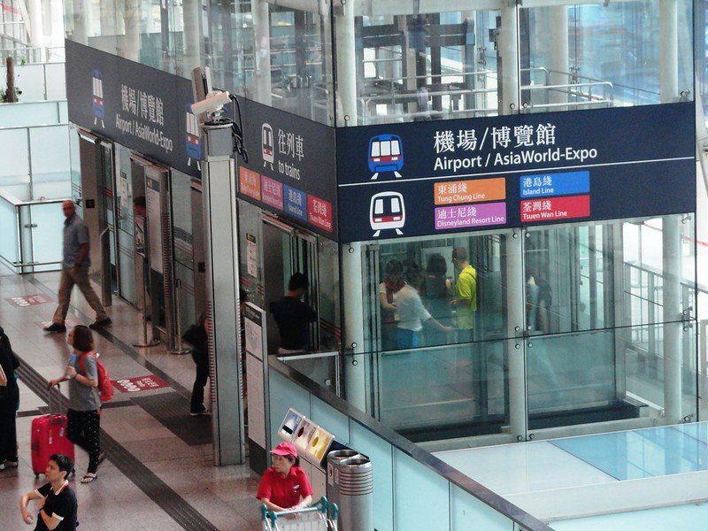 hong kong airport express pic by fabio achilli flickr