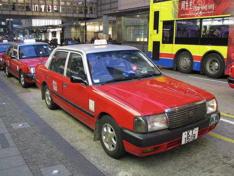 hong kong public transport taxi by shankar