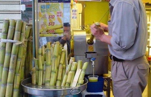 hong kong sugar cane cart by aaron tango tang
