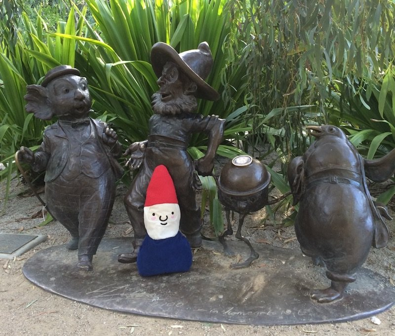 image - ian potter childrens garden - the magic pudding story