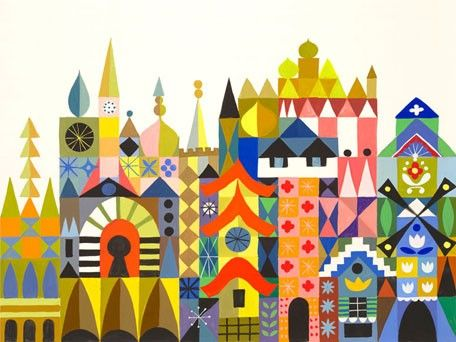 its'a small world by mary blair